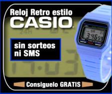 Reloj retro gratis