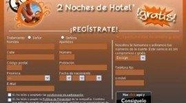 Gana 2 noches de hotel gratis con PremiosFaciles