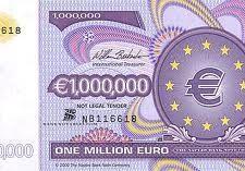 Sorteo diario 1 millón de euros