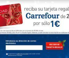 Gana una tarjeta regalo Carrefour