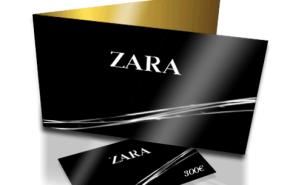 Cupon de 300 euros para gasta en Zara para los suscritos por mail y facebook