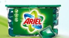 Muestra gratis de una cápsula de Ariel liquido
